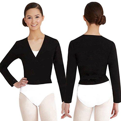 Capezio Ballet Chaqueta Envuelta Top Niños CAD 850C