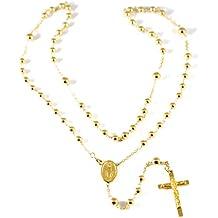 277fc9cffea7 Collar rosario de Oro Amarillo 750 18 K