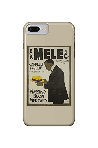 mele-and-ci-cappelli-paglie-vintage-poster-artist-laskoff-italy-c-1902-iphone-7-plus-cell-phone-case