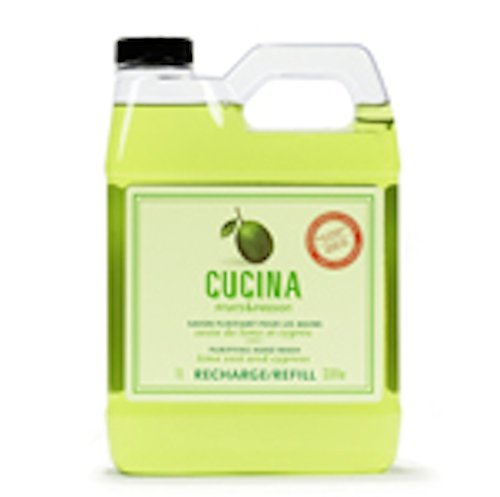 Cucina Lime Zest and Cypress 33.8 oz Purifying Hand Wash Refill by Cucina