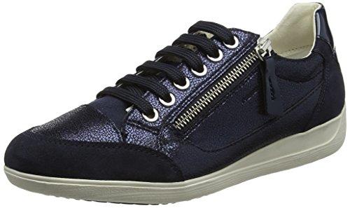 Geox D Myria A, Sneaker Donna Blu (Navy)