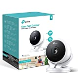 Kasa Smart Security Camera by TP-Link, Outdoor CCTV, Weatherproof, No Hub Required, Works with Alexa(Echo Spot/Show), Google Home/Chromecast, 1080p, Built-in Siren with Night Vision, 2-way Audio