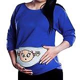 FIRSS Damen Umstandsshirt,Baby Lustig Umstandsmode Mutterschaft Baby Spähen T-Shirt Kleidung Stilltop Schwangerschaft Umstandstop