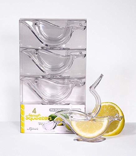 Epicurio - Exprimidor de limón 4 unidades