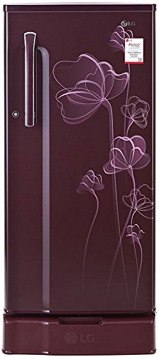 LG 188 L 1 Star Direct-Cool Single Door Refrigerator (GL-D191KSHU.ASHZEBN, Scarlet Heart)  available at amazon for Rs.12890
