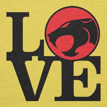TEXLAB - Thunder Love - Herren T-Shirt Gelb