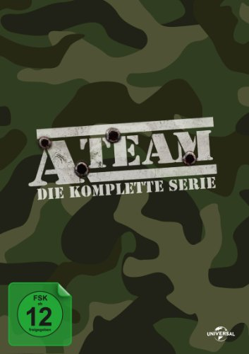 A-Team - Die komplette Serie [27 DVDs] - 5 Tv-season Dvd Mad