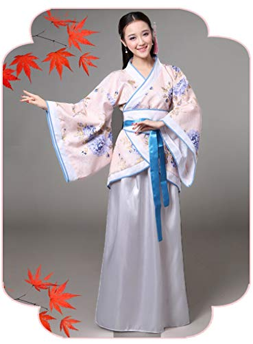 Cxlyq Hanfu Kostüm Han Chinesische Kleidung Weiblichen Alten Tang-Dynastie Kostüme Klassischen Tanz Royal - Women's Golf Kostüm