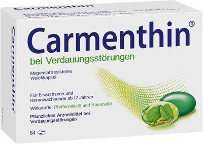 CARMENTHIN bei Verdauungsstörungen m.s.r.Weichkap. 84 St Kapseln magensaftresistent by CARMENTHIN
