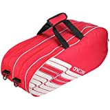 One O One - Lines Collection Triple Red - Badminton / Tennis Kitbag