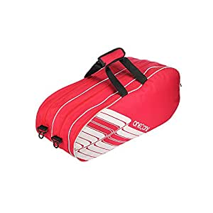 One O One - Lines Collection Triple Red - Badminton/Tennis Kitbag