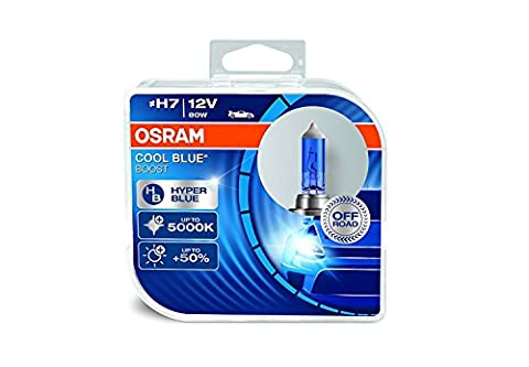 Ampoules H7 Osram Cool Blue Boost 5000K