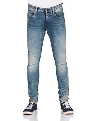 G-STAR RAW Herren Revend Skinny Jeans, Blau (lt aged 8592-424), W30/L32 Western Jeans-hose