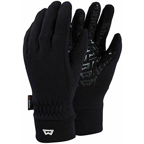Handschuhe Touch Screen Grip (Mountain Equipment Damen Touch Screen Grip Handschuhe, Black, L)