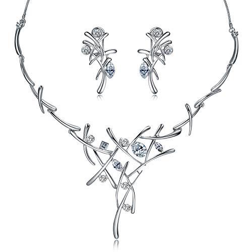 Viennois - Conjunto de joyería de Oro Rosa