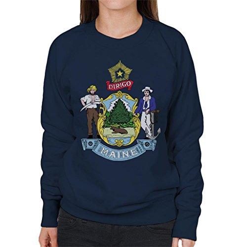 Coto7 Maine State Flag Women's Sweatshirt