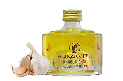 Knoblauchöl, kalt gepresst. Naturrein, ätherisch. Spitzenqualität. Flasche 40ml.