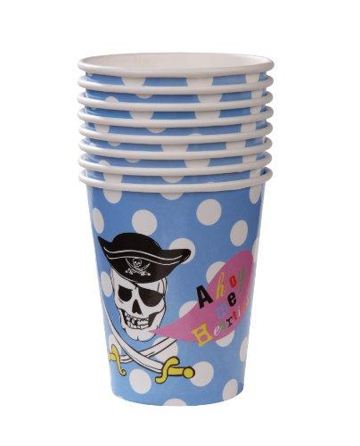 Talking Tables Piraten-Party-Becher, 8Stück