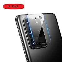 FanTing camera lens protective film for Samsung Galaxy S20 Ultra,transparent,ultra-thin,scratch-resistant,soft tempered glass lens protective film for Samsung Galaxy S20 Ultra-2 Pack
