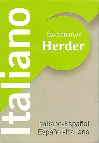 Diccionario Herder mini. Italiano-español, español-italiano