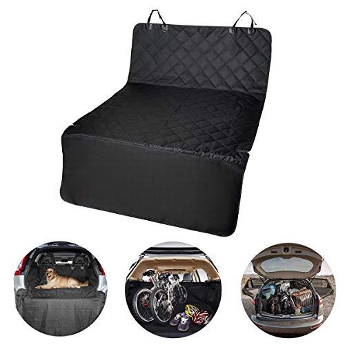 IrishTech Kofferraumschutz für Hunde, Universal-Kofferraumschutz Wasserdichte waschbare schmutzfeste und weiche Anti-Rutsch-Matte mit Seitenschutz. Geeignet für die meisten Autos, SUV, Vans & Trucks