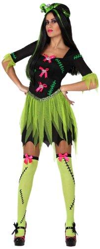 Braut Frankensteins Amazon Kostüm (Atosa 8422259148906 - Verkleidung Sexy Monster)