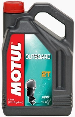 Motul 101734 Motoröl Outboard 2T, 5 L