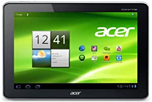 Acer Iconia A700 25,7 cm (10,1 Zoll) Tablet-PC (Full HD, NV Tegra 3 Quad-Core, 1,3GHz, 1GB RAM, 32GB Flashspeicher, Bluetooth, Android 4.1) silber