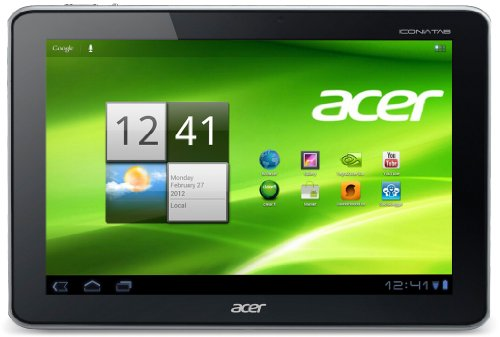 Acer Iconia A701 25,7 cm (10,1 Zoll) Tablet-PC (NVIDIA Tegra 3, 1,3GHz, 1GB RAM, 64GB eMMC, ULP Geforce, Android 4.1) schwarz (Nvidia 3 Tegra)