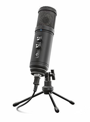 Trust Signa HD USB-Studiomikrofon, schwarz