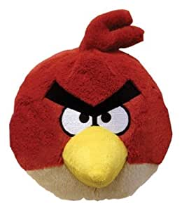 Peluche Angry birds rouge - 12 cm