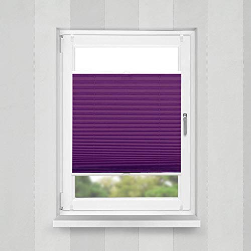 Plissee Violett HOME-VISION - 2
