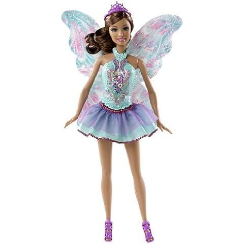 Barbie Fairy moda mezclar y combinar Teresa Doll Corto púrpura de la turquesa de la falda