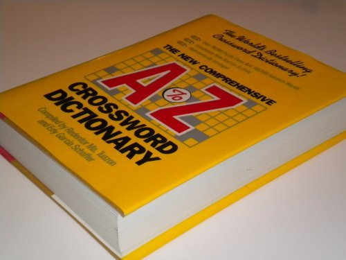 The New Comprehensive A-Z Crossword Dictionary by Redentor Ma Tuazon (1990-06-02)