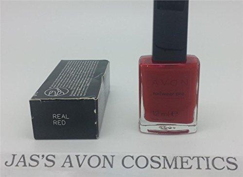 Avon Nailwear Pro + Nagel Emaille/Polish-Farbe: Echtes Rot -