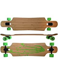"42,5x10"" Deluxe Longboard MAXOfit®Bamboo Race No. 4, 107 cm, Drop Through"