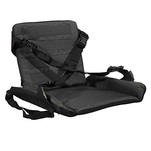 Stealth Gear - Seggiolino Extreme, taglia unica, colore Urban Charcoal - Atletica Sedile