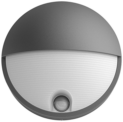 Philips myGarden Capricorn - Aplique de exterior LED con sensor de movimiento,...
