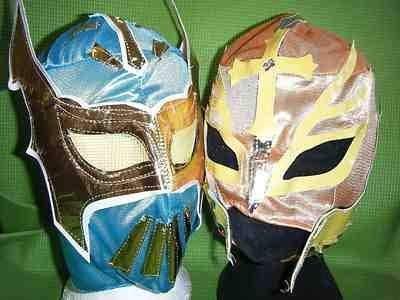 SOPHZZZZZ TOY SHOP Sin Cara & Farbe Will Variieren Rey Mysterio WWE Wrestling Maske Kostüm Cosplay Mexikanisch Sport Kampf Neue Serie Mexikanisch Kinder Jungen