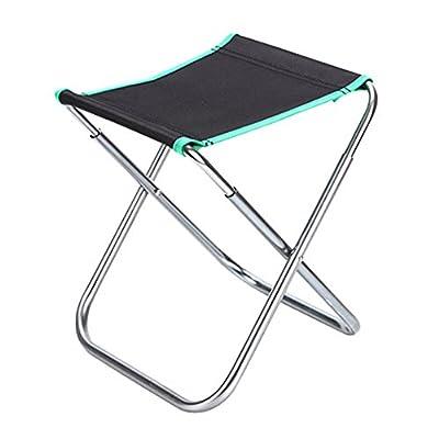 Unbekannt Hocker- Angeln Stuhl Tragbare Aluminium Angeln Hocker Mazar Angeln Stuhl multifunktions Klappständer Stabil Taiwan Angeln Stuhl Strandkorb (24 * 22 * 28 cm) von L&Y auf Gartenmöbel von Du und Dein Garten