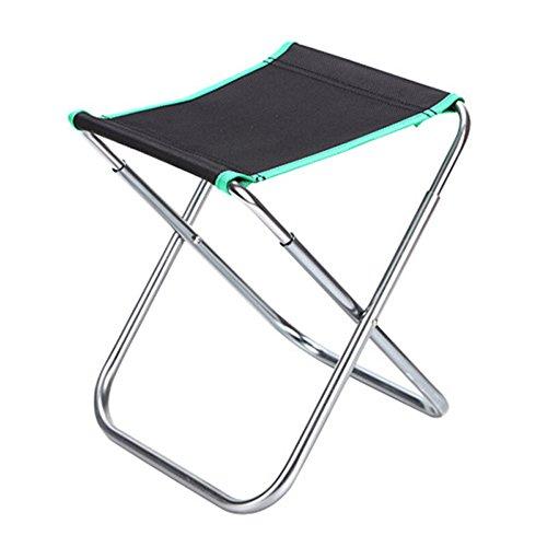 WY Angeln Stuhl Tragbare Aluminium Angeln Hocker Mazar Angeln Stuhl multifunktions Klappständer Stabil Taiwan Angeln Stuhl Strandkorb (24 * 22 * 28 cm) Möbel (Farbe : B)