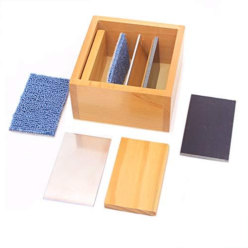 Wumudidi Montessori sensorische Lehrmittel, professionelle Version des Kinder-Temperatur-Boards Preschool Early Learning Tool (Feinmotorische Entwicklung)