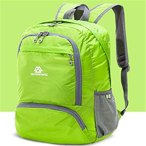 TnXan Leisure Bags Trekking Rucksacks Camping Backpack Skin Backpack Collapsible Travel Backpacks Lightweight Portable Men and Women Bag
