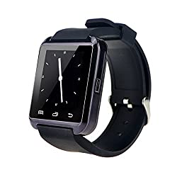 Bluetooth Smart Watch Wrist Wrap Watch Phone Smart Watch For Ios Android Phones Samsung S2s3s4s5note 2note 3 Htc (Black)