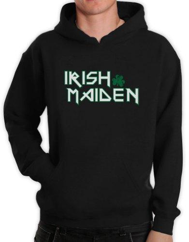 Green Turtle T-Shirts IRISH MAIDEN Schwarz XX-Large Kapuzenpullover Hoodie -