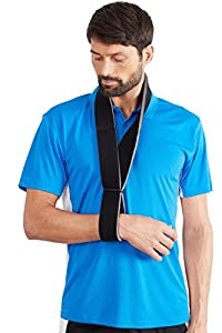 Actesso Shoulder- Arm Sling- Collar and Cuff Sling for broken wrists, upper arm fractures, arm rest, injury