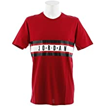 Nike BBALL Graphic tee 4 - Camiseta, Hombre, Rojo(Gym Red)
