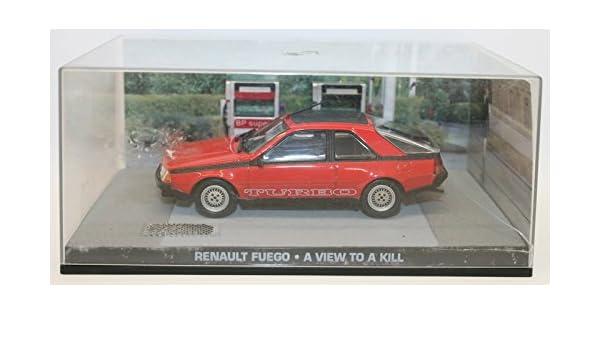 1:43 Voiture Model Car DY086 Renault Fuego James Bond 007 Dangereusement vôtre