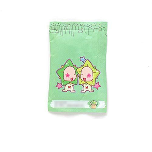 Ndier Paquete de 100 bolsitas perfumadas con Aroma a limón Home Ambientador Bolsas para cajones, armarios y automóviles (Tulipán)