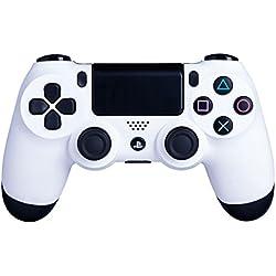 DUALSHOCK 4 inalámbrico blanco para PS 4 - Tacto suave y mejor agarre